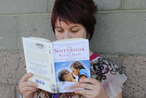 Student dives into the beloved book The Notebook