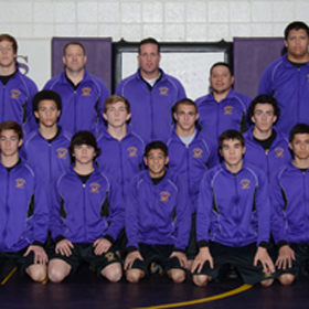 Varsity wrestling team participates in wrestling event