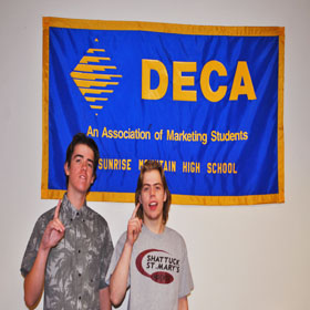 DECA students keep impressing