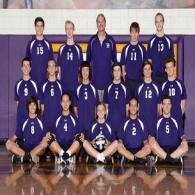 Varsity volleyball plays against best team in state