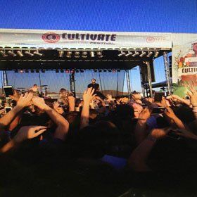 Five bands perform for free at Cultivate festival